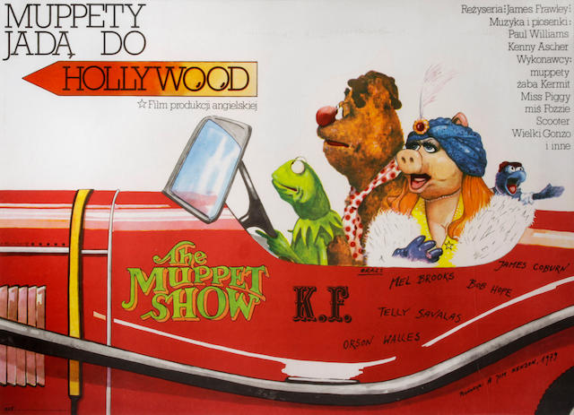 The Muppet Movie (Muppety Jada do Hollywood)