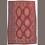 A Salor rug Afghanistan, size approximately 3ft. 6in. x 5ft. 8in.