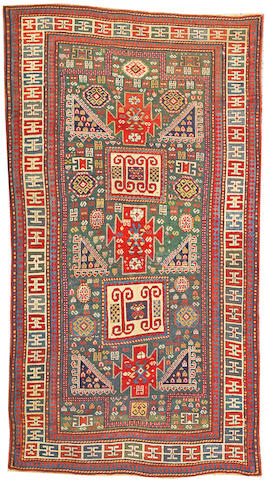 A Kazak carpet Caucasus, size approximately 4ft. 10in. x 8ft. 10in.