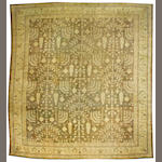 An Oushak carpet West Anatolia, size approximately 13ft. 2in. x 14ft. 4in.
