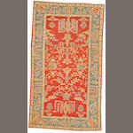 An Oushak carpet West Anatolia, size approximately 5ft. x 8ft. 9in.