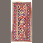 A Shirvan rug Caucasus, size approximately 3ft. 8in.x 5ft. 2in.