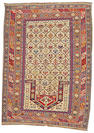 A Shirvan rug Caucasus, size approximately 4ft. 8in. x 9ft.