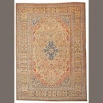 A Mohtasham Kashan carpet Central Persia, size approximately 8ft. x 11ft.