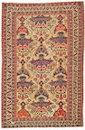 An Afshar carpet Southwest Persia size approximately 5ft. 3in. x 8ft.