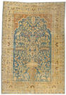 A Khorassan carpet Northeast Persia, size approximately 6ft. 7in. x 9ft. 7in.