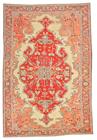 A Serapi carpet Northwest Persia, size approximately 8ft. 3in. x 12ft. 3in.