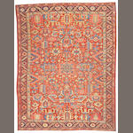 A Heriz carpet Northwest Persia, size approximately 9ft. 4in. x 11ft. 10in.