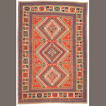 A Kazak rug Caucasus, size approximately 5ft. 2in. x 7ft. 7in.
