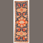 A Karabagh rug Caucasus, size approximately 3ft. 2in. x 9ft. 6in.