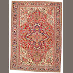 A Heriz carpet Northwest Persia, size approximately 8ft. 4in. x 11ft. 5in.