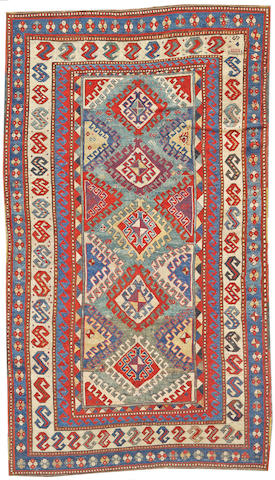 A Kazak carpet Caucasus, size approximately 5ft. 2in. x 9ft.