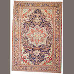 A Fereghan Sarouk carpet Central Persia, size approximately 9ft. 1in.x 12ft. 10in.