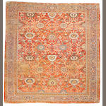 A Sultanabad carpet Central Persia, size approximately 10ft. 7in. x 11ft.2in.