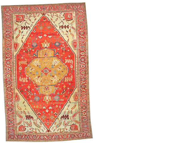 A Bakshaish carpet Northwest Persia, size approximately 11ft. 4in. x 18ft. 4in.