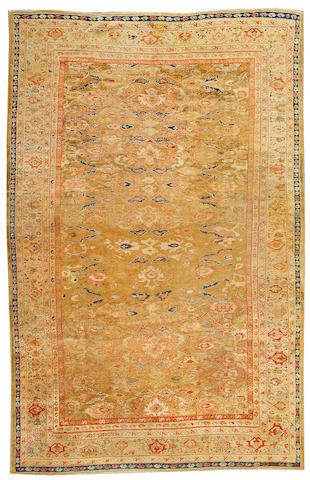 A Sultanabad carpet Central Persia, size approximately 6ft. 9in. x 10ft. 5in.