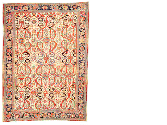 A Fereghan Sarouk carpet Central Persia, size approximately 8ft. 5in. x 11ft. 7in.
