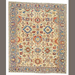 A Heriz carpet Northwest Persia, size approximately 8ft. 2in. x 10ft.