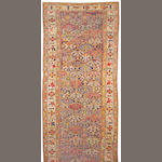 A Northwest Persian long carpet size approximately 6ft. 6in. x 19ft. 5in.