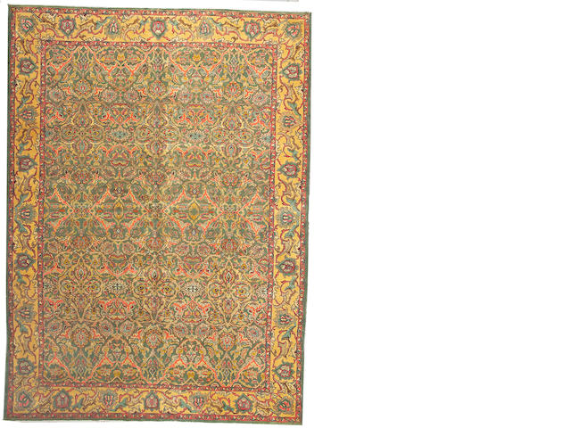 A Tabriz carpet Northwest Persia size approximately 8ft. 1in.x 11ft. 1in.