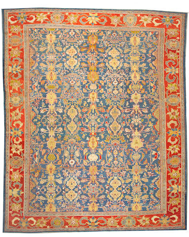 A Sultanabad carpet Central Persia, size approximately 12ft. 5in. x 15ft. 6in.