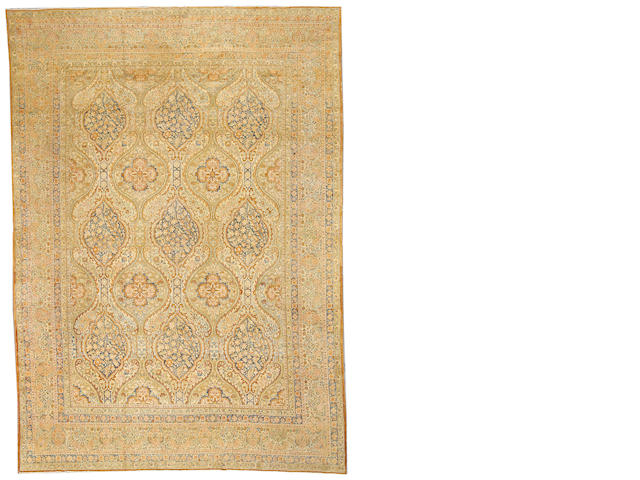 A Kerman carpet South Central Persia, size approximately 9ft. x 12ft.
