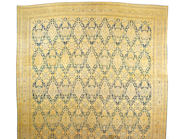 A Yazd carpet South Central Persia, size approximately 15ft. x 25ft.