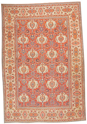 A Tabriz carpet Northwest Persia, size approximately 9ft. x 12ft.
