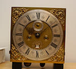 A William III floral marquetry longcase clocklate 17th century