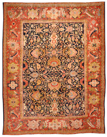 A Sultanabad carpet Central Persia, size approximately 12ft. x 15ft. 4in.