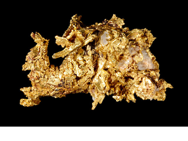 Fine California Crystalline Gold Specimen