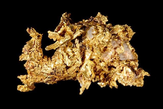 Fine California Crystalline Gold Specimen