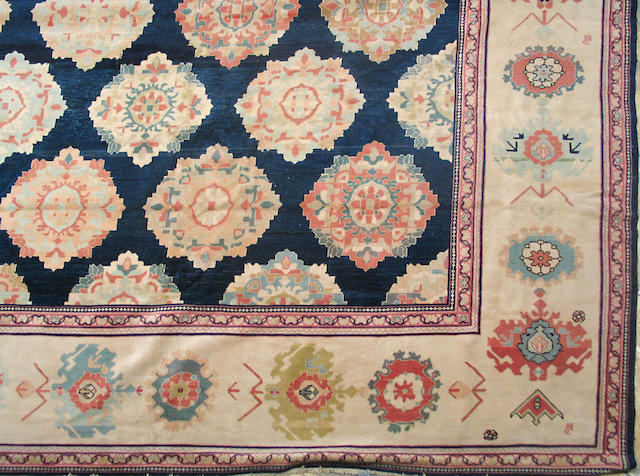 A Kerman long carpet size approximately 6ft. x 15ft.