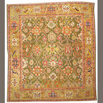 A Sultanabad carpet Central Persia, size approximately 12ft. 3in. x 14ft.