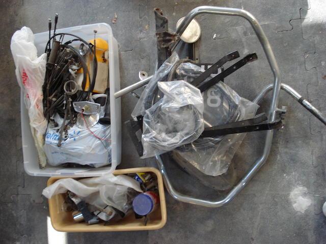 A quantity of parts,