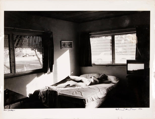 Helmut Newton; from 200 Motels or How I Spent my Summser Vacation October '76 Playboy gelatin silver print;