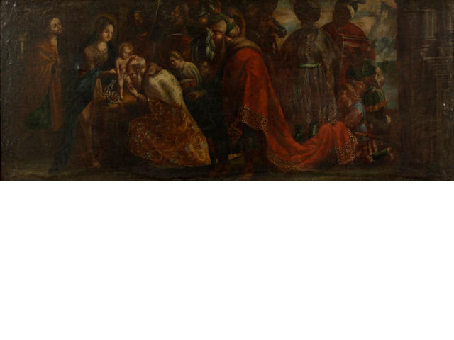 Flemish School, 17th/18th Century The Adoration of the Magi