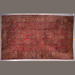 A Sarouk carpet Central Persia, size approximately 10ft. 2in. x 17ft. 4in.