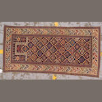 A Shirvan prayer rug Caucasus size approximately 2ft. 10in. x 5ft. 10in.