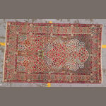 A Lavar Kerman rug South Central Persia, size approximately 4ft. 4in. x 7ft.