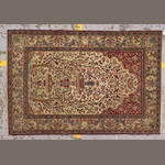 An Isphahan carpet Central Persia, size approximately 4ft. 6in. x 6ft. 8in.