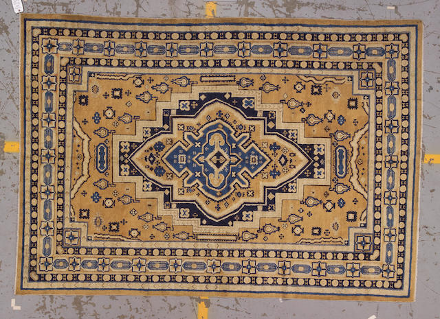 A Chinese carpet circa 1900 size approximately 6ft. x 8ft. 8in.
