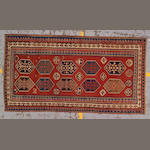 A Kazak rug Caucasus, size approximately 4ft. 4in. x 8ft. 2in.