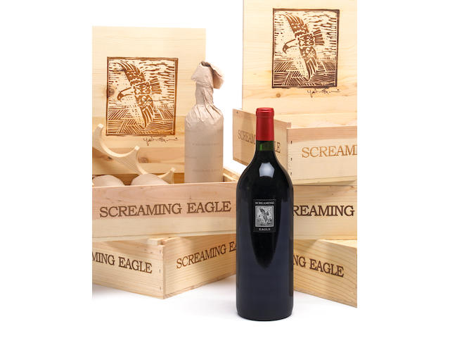 Screaming Eagle 1997 (1 magnum)  Screaming Eagle 1998 (1 magnum)  Screaming Eagle 1999 (1 magnum)