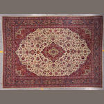 A Kashan carpet Central Persia, size approximately 9ft. 10in. x 14ft.