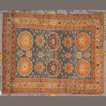 An Oushak rug West Anatolia, size approximately 4ft. 3in. x 5ft. 2in.