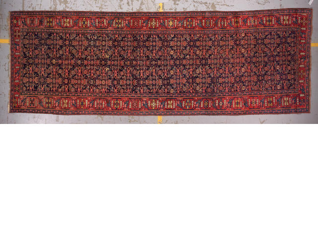 A Bidjar long carpet Central Persia, size approximately 5ft. 8in. x 16ft. 10in.