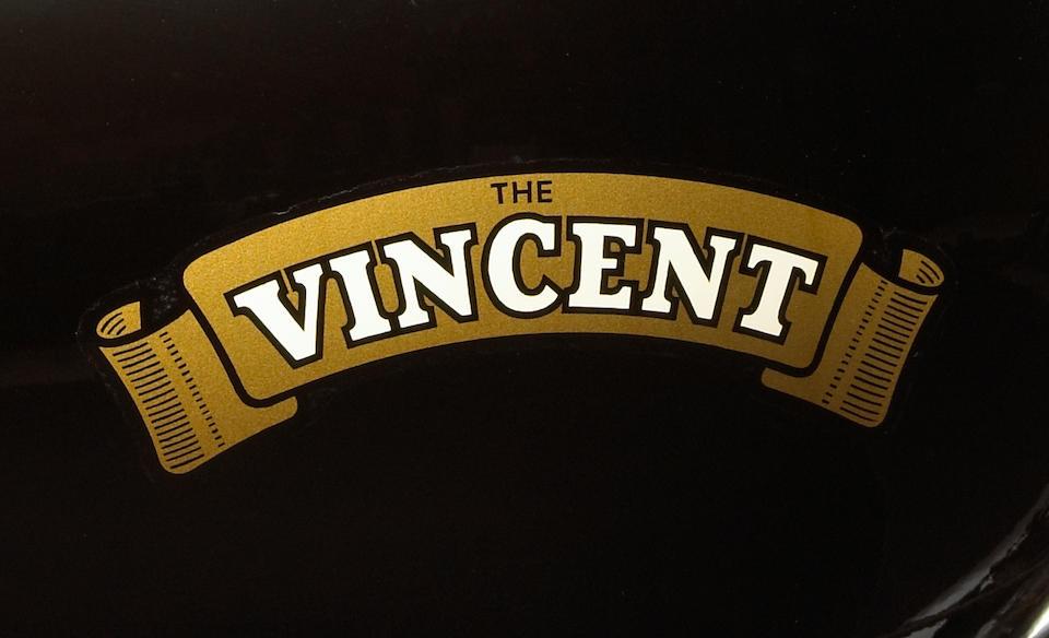 1952 Vincent 998cc Black Shadow Series C Frame no. RC10266B/C Engine no. F10AB/1B/8366