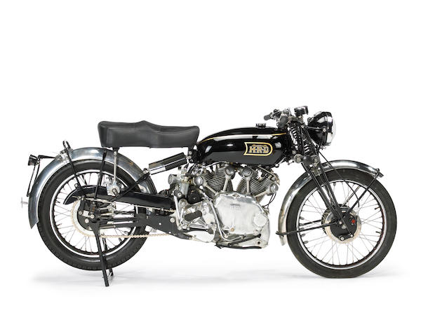 1948 Vincent-HRD  998cc Rapide Series B Frame no. R3086 Engine no. F10AB/1/1096