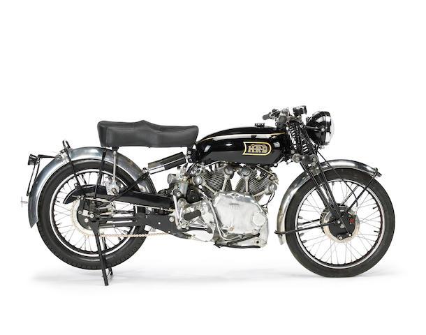 Bonhams : 1948 Vincent-HRD 998cc Rapide Series B Frame no. R3086 ...